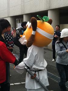 ONE POINT-菓子祭前日際_ゆるキャラおれんじ