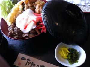 ONE POINT-たむたむスペシャル丼