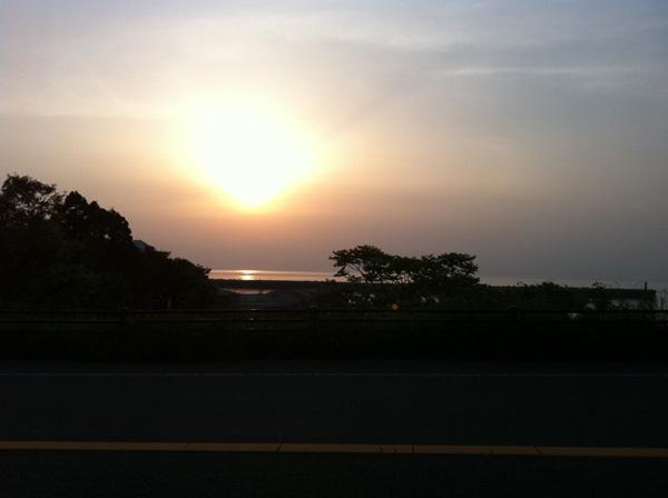 ONE POINT-香住の夕日